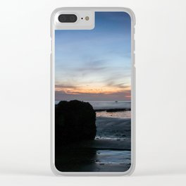 Sunset Handry's Beach Clear iPhone Case
