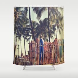 Classic Hawaii Shower Curtain