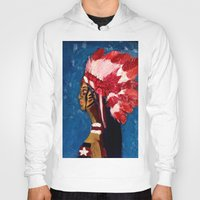 native american Hoodies featuring Native American by Ksuhappy