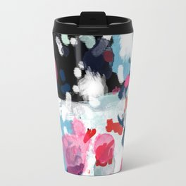 Paige - abstract painting hipster home decor trendy color palette art gifts Travel Mug