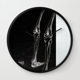 Anatomy Edit no.1 Wall Clock
