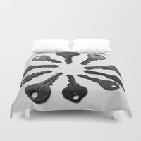 key Duvet Covers featuring key by L Step