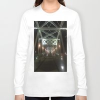 nashville Long Sleeve T-shirts featuring Nashville Nights by Anthony J. Newton Designs