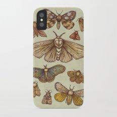 Moths Slim Case iPhone X