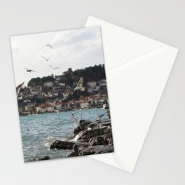 the old pier of Ohrid Stationery Cards