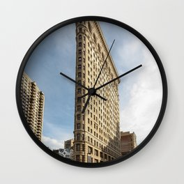 Flatiron building Wall Clock