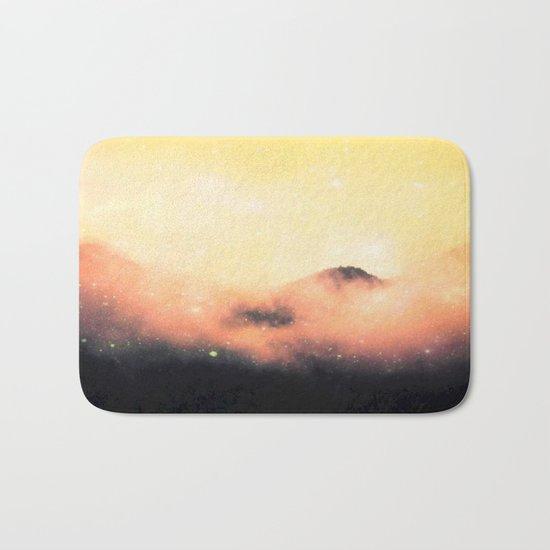 Cosmic landscape #stardust #society6 Bath Mat