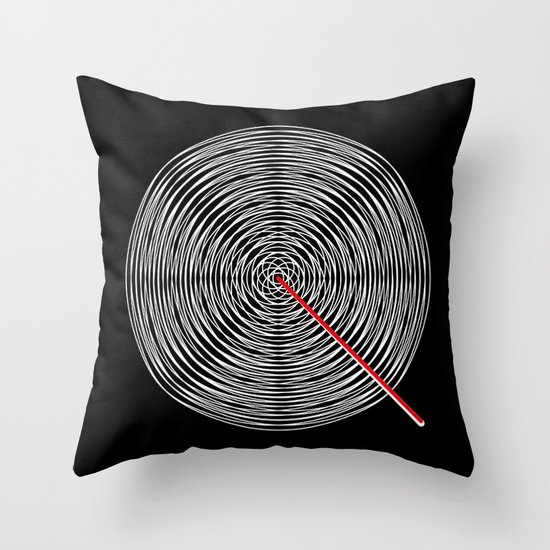 Q like Q Throw Pillow