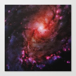 Monster of Messier 83 Canvas Print