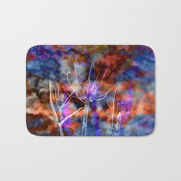 Floral Cloud Spectacle Bath Mat