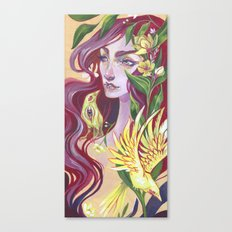 Canary Canvas Print