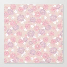 Spring Wind Flower Canvas Print
