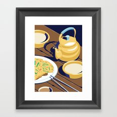 A night out in Seoul - Part 7 - Rice Wine Framed Art Print