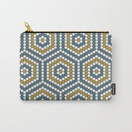Hexagon Tile One Carry-All Pouch