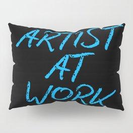 Artist at Work (blue) Pillow Sham