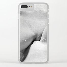 Making Love Clear iPhone Case