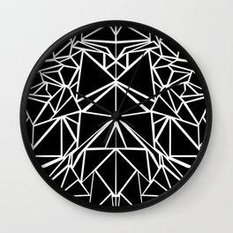 Black machaon Wall Clock