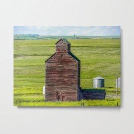 Elevator, Charbonneau, North Dakota Metal Print