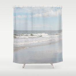 Tybee Beach Shower Curtain