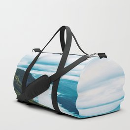 At the Edge of the Cliff Duffle Bag