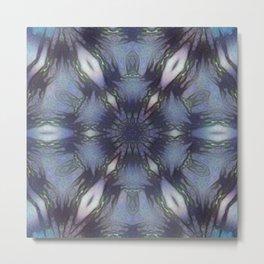 Unbelievable Mirror Mandala 5 Metal Print
