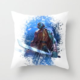 TMNT - Leo Throw Pillow