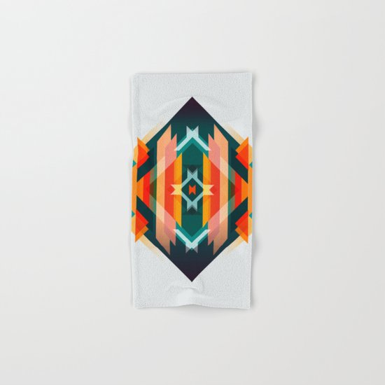 Broken Diamond - Incalescence Hand & Bath Towel