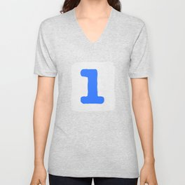 Number1 Unisex V-Neck