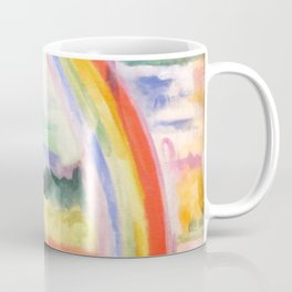 "Robert Delaunay ""The Rainbow"" Coffee Mug"