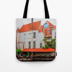 Flowers and Cloggs Tote Bag