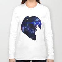 mass effect Long Sleeve T-shirts featuring Mass Effect: Legion by Ruthie Hammerschlag