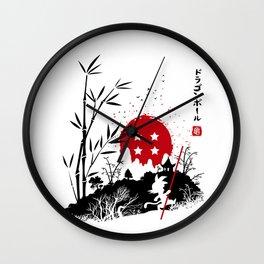Adventure in Japan Wall Clock