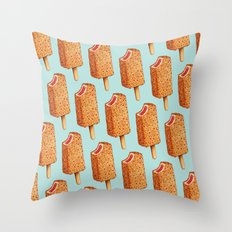 Popsicle Pattern- Strawberry Shortcake Throw Pillow