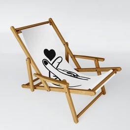 Finger Heart Sling Chair