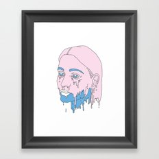 Girlscream. Framed Art Print