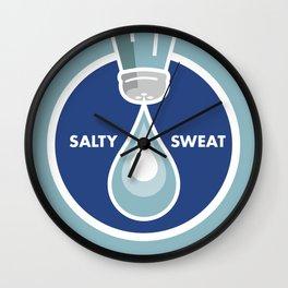 Salty Sweat Wall Clock