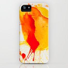 Orange Study iPhone Case