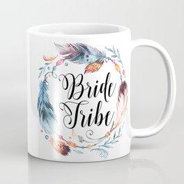 Bride Tribe Boho Feathers Coffee Mug