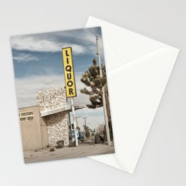 Liquor Store Yucca Valley Stationery Cards