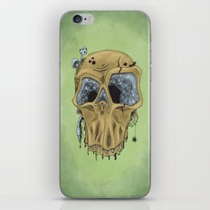 Weathered Skull iPhone & iPod Skin
