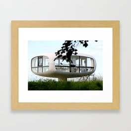 Wedding room in Binz 2 Framed Art Print