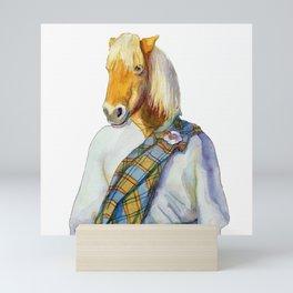 Scottish Shetland Pony Mini Art Print