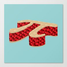 Pi Pie Canvas Print