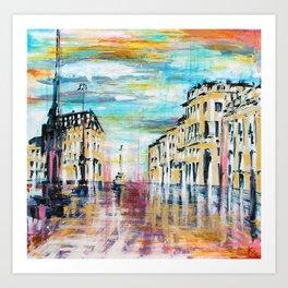 BORDEAUX - Eau Art Print