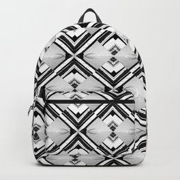 iDeal - B&W Psychedelic Backpack