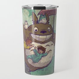 Flying Neighbor Travel Mug