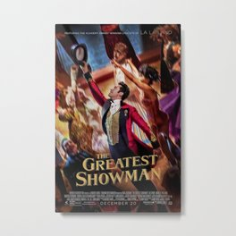The Greatest Show Magic Metal Print
