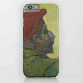 Paul Gauguin (Man in a Red Beret) iPhone Case