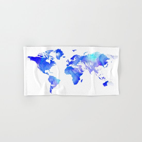 Watercolour World Hand & Bath Towel