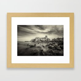 Old Kinbane Framed Art Print
